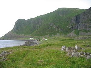 Værøy - Mostad