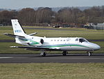 M-WOOD Cessna Citation Bravo 550B (26009575352).jpg