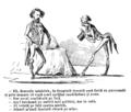 M. B. Baer - Senato-filĭ și senato-fagĭ (1. Brătianu), Ghimpele, 14 iul 1868.png