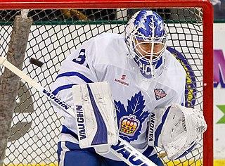 Calvin Pickard Canadian ice hockey player