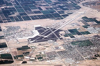 Marine Corps Air Station Yuma - Aerial photo as of 15 June 1992
