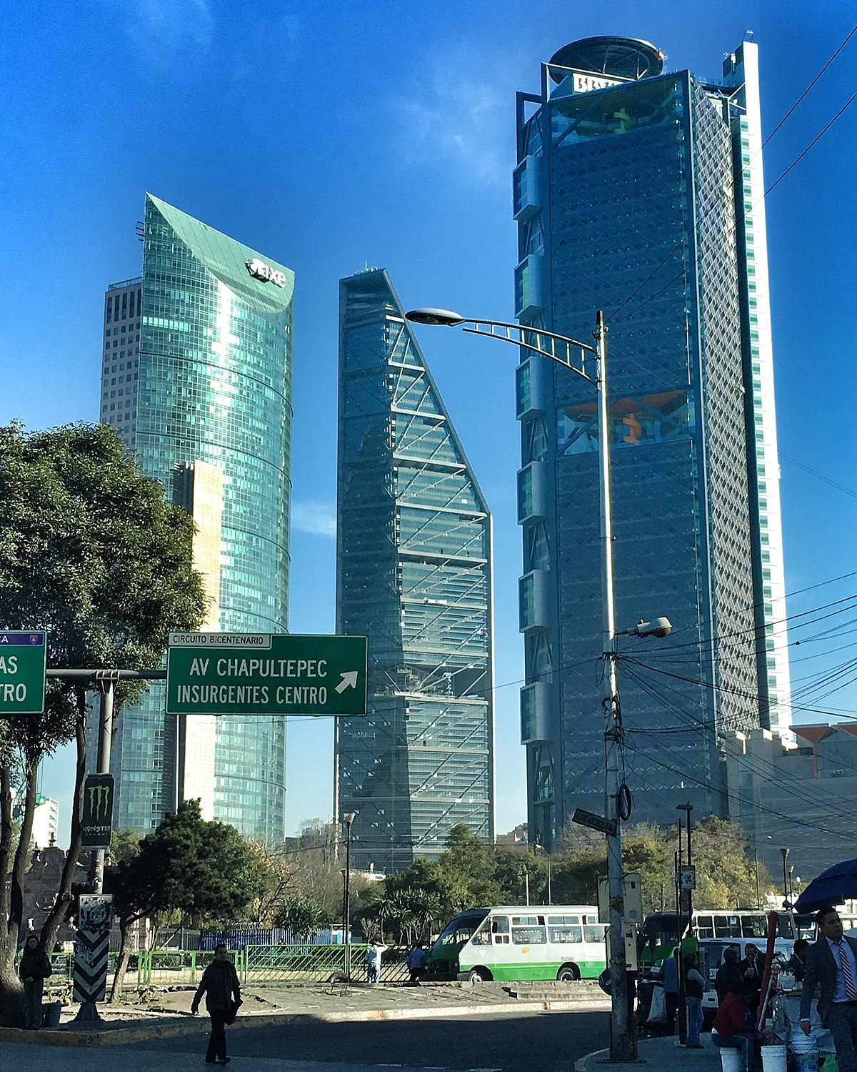 List Of Tallest Buildings In Mexico City Wikipedia