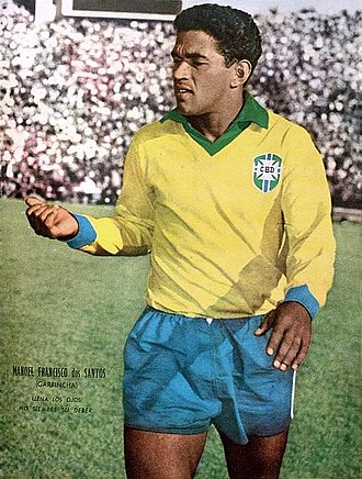 Garrincha - Image: M Fd Santos Garrincha