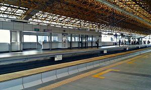 Anonas LRT station - Anonas station