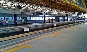 Araneta Center–Cubao LRT station - Araneta Center-Cubao station