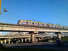 Post the picture of mass transit and station in capital city at ...