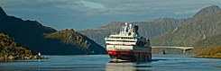 MS Nordnorge, Hurtigruten in Raftsundet, Nordland, Norway, 2015 September.jpg