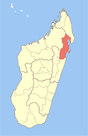 Analanjirofo - Image: Madagascar Analanjirofo Region