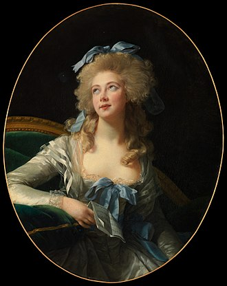 Élisabeth Vigée Le Brun - Madame Grand, 1783 portrait of Catherine Grand, now at the Metropolitan Museum of Art