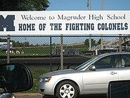 Magruder HS playground
