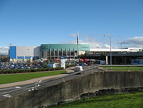 Mahon Point Retail Centre, with Farmers Market - panoramio.jpg