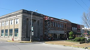 National Register of Historic Places listings in Mississippi County, Arkansas - Image: Main at Second in Blytheville