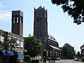 Mairie de 'Mill en Sint Hubert' à coté de l'église de Mill.JPG