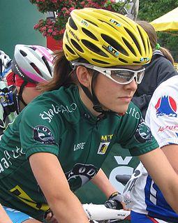 Maja Włoszczowska Polish mountain biker