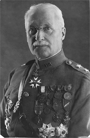 Pershing House - Major General E M Lewis