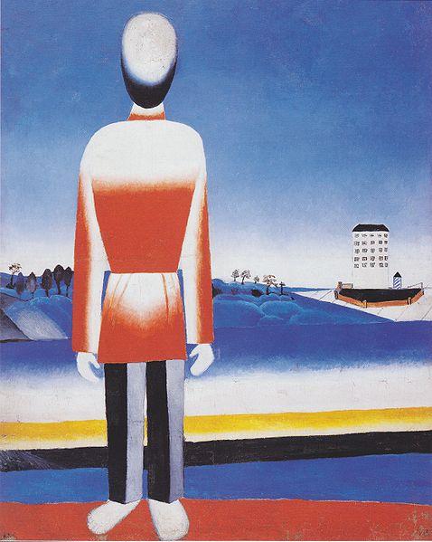 File:Malevich - Mann in suprematischer Landschaft.jpeg