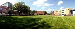 Manchester University campus