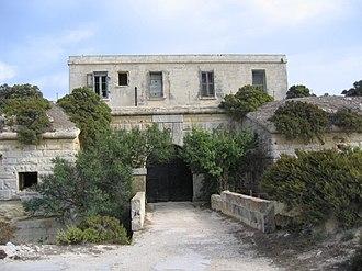 Fort Delimara - Gatehouse.