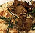 Manchons de canard confit et sa mousseline de celeri rave au oignons frits.jpg