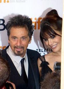 Al Pacino, con la compagna Lucila Solá, alla prima di Manglehorn