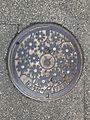 Manhole cover of Toyoura, Shimonoseki, Yamaguchi.jpg