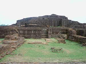 Vakataka dynasty - Remains of the Pravareshvara Shiva temple built by Pravarasena II at Mansar