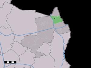 Lattrop - Image: Map NL Dinkelland Lattrop