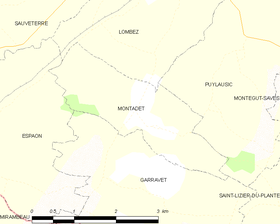 Map commune FR insee code 32276.png