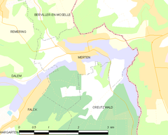 Map commune FR insee code 57460.png