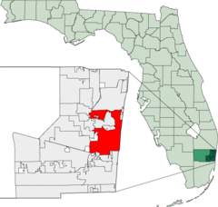 Map of Florida highlighting Fort Lauderdale.png
