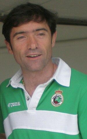 Marcelino García Toral - Marcelino whilst with Racing