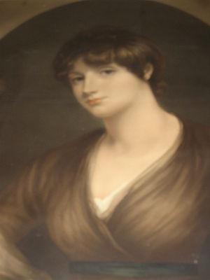 Charles Arbuthnot - Marcia Clapcott-Lisle (1774–1806), first wife of Charles Arbuthnot; by John Hoppner.