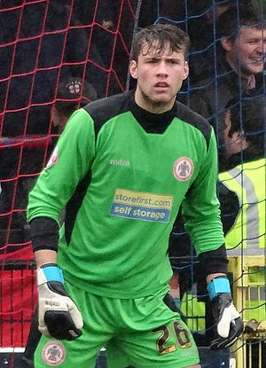 Marcus Bettinelli - Bettinelli playing for Accrington Stanley in 2014