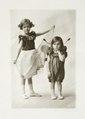 Margit och Erik von Geijer som småbarn, 1913 - Hallwylska museet - 107982.tif