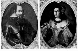 Maximilian I, Elector of Bavaria - Maximilian I, Elector and Duke of Bavaria and his second wife, Maria Anna of Austria