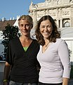 Maria Schreil and Marion Tremel, Tag des Sports 2009.jpg