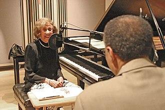 Marian McPartland - Marian McPartland interviews Ramsey Lewis on her radio show, Marian McPartland's Piano Jazz in 2009