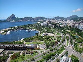 Glória, Rio de Janeiro - Marina da Glória (left)