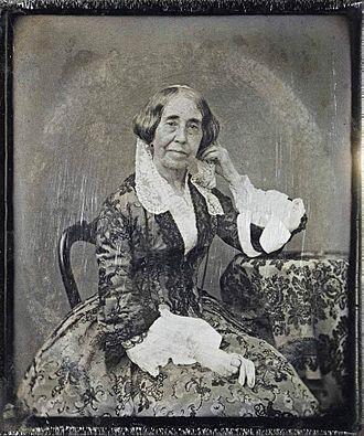 Mariquita Sánchez - Daguerreotype of Maria Sánchez de Mendeville (1854)