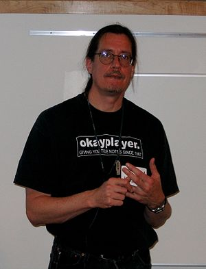 Mark P. McCahill - Image: Mark Mc Cahill in 2006 (cropped)