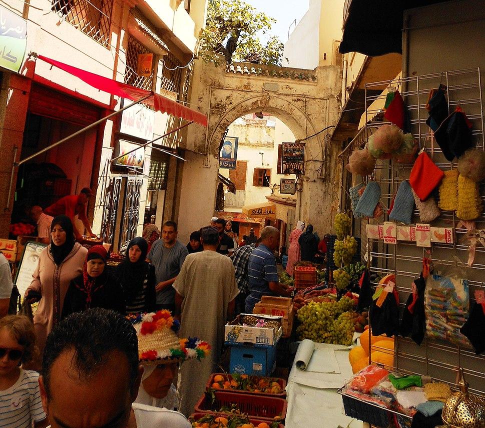 Marktstände in der Medina