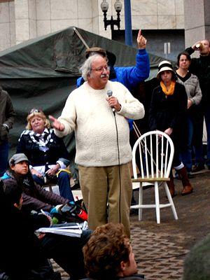 Marshall Ganz - Marshall Ganz speaking about movement organization at Occupy Boston, 2011