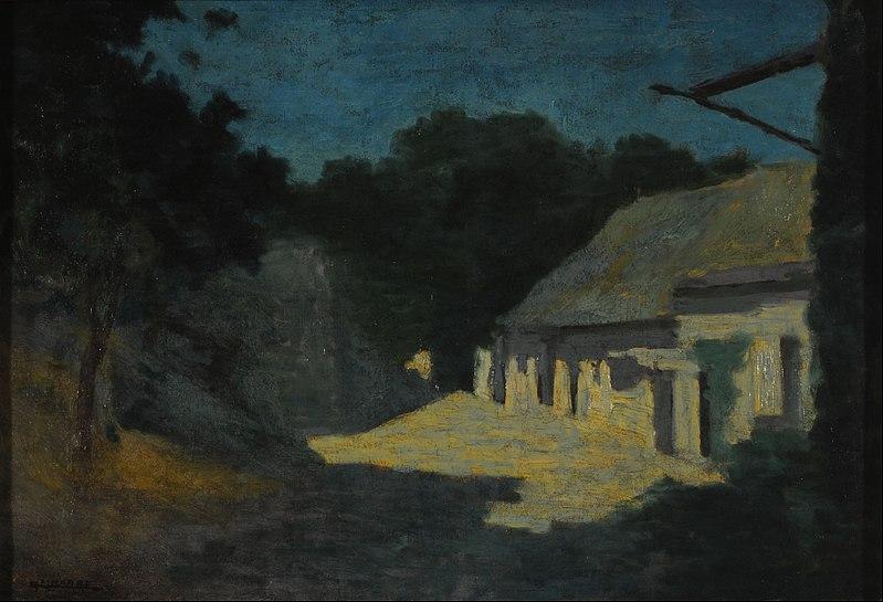 Archivo: Martín Malharro - Nocturno - Google Art Project.jpg