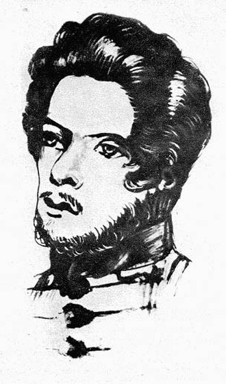 Henriette Pressburg - Karl Marx as a student, 1836