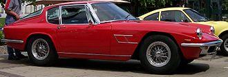 Maserati Mistral - Image: Maserati Mistral 4000 red vr