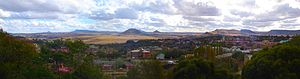 Maseru - Panoramic view of Maseru in 2007