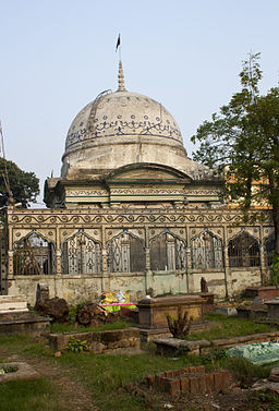 Masjid (Side View) - Nakhoda Burial Ground (Kabarsthan)