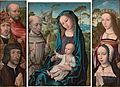 Master of the Legend of Mary Magdalene - A triptych (The Virgin and Child with Saint Francis of Assisi).jpg