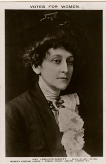 Maud Arncliffe Sennett English actress and suffragist