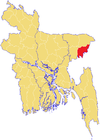Maulvibazar District Map.png